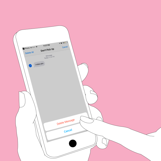 How To Delete Your Ex Off Your Phone, For Real(Guide)